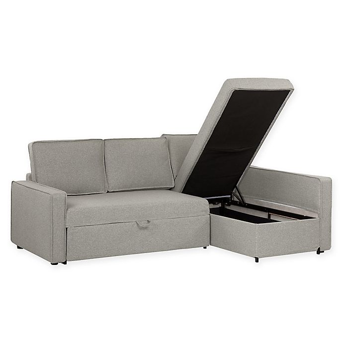 Alternate image 1 for South Shore Live-It Sectional Sofa with Storage Chaise