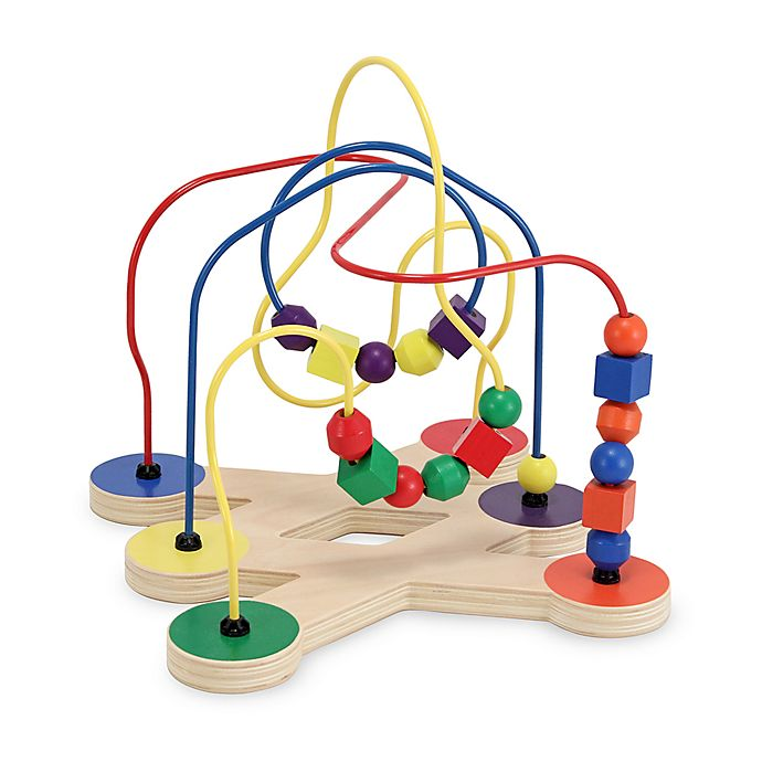 Alternate image 1 for Melissa & Doug® Multi-Colored Toy Bead Maze