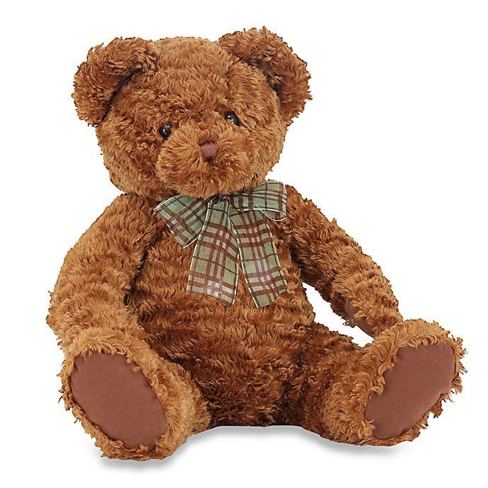 Alternate image 1 for Melissa & Doug® Chestnut Teddy Bear