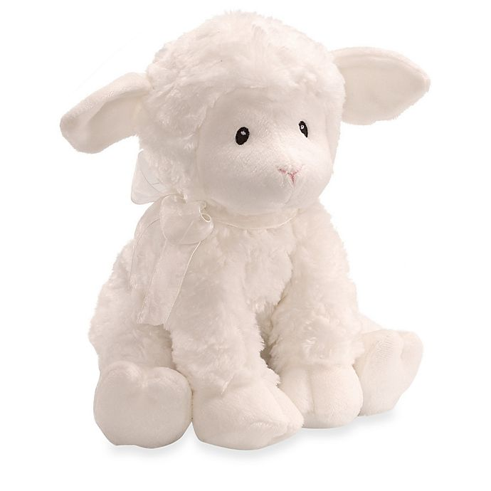Alternate image 1 for Gund® Baby Lena Lamb Musical Toy