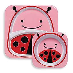 SKIP*HOP® Zoo Melamine Tableware - Ladybug
