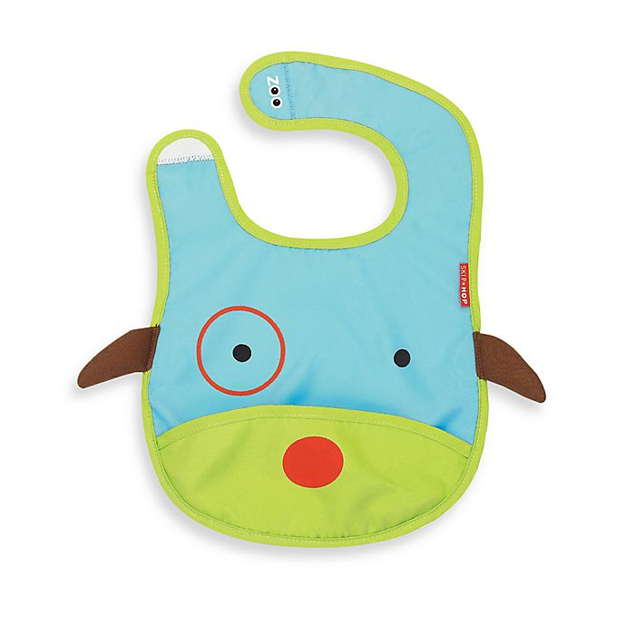 Alternate image 1 for SKIP*HOP® Zoo Tuck-Away Bibs in Dog