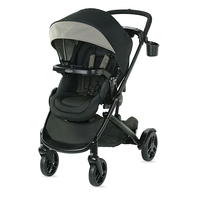 Alternate image 1 for Graco® MODES2GROW™ Stroller in Grey Haven