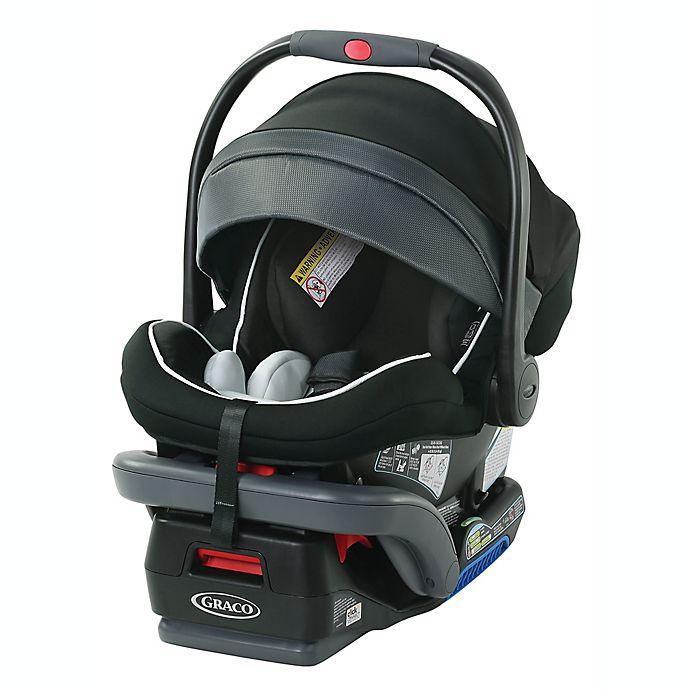Alternate image 1 for Graco® SnugRide® SnugLock 35 Platinum Infant Car Seat in Black Spencer