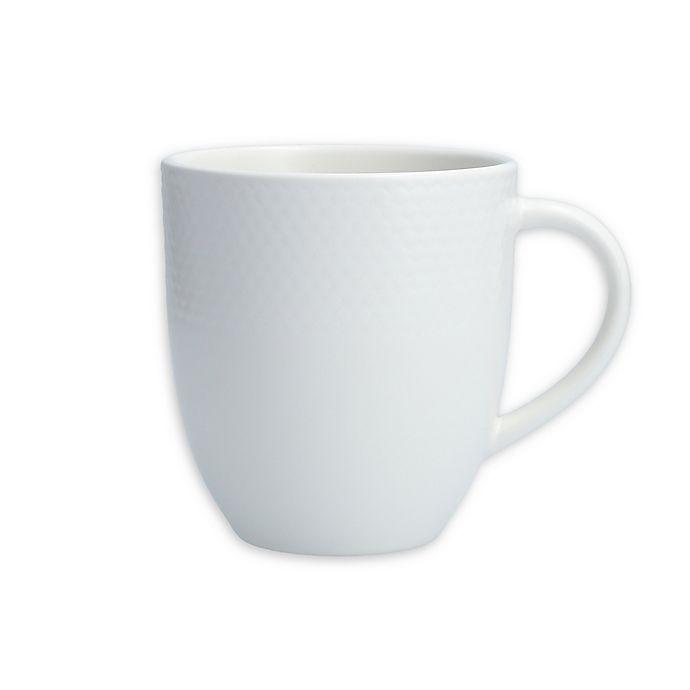 Alternate image 1 for Neil Lane™ by Fortessa® Trilliant Mugs in White (Set of 4)