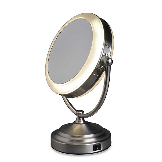 Alternate image 1 for Rialto® 8X/1X Daylight Cosmetic Vanity Mirror