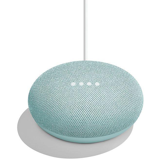Alternate image 1 for Google Home Mini in Aqua