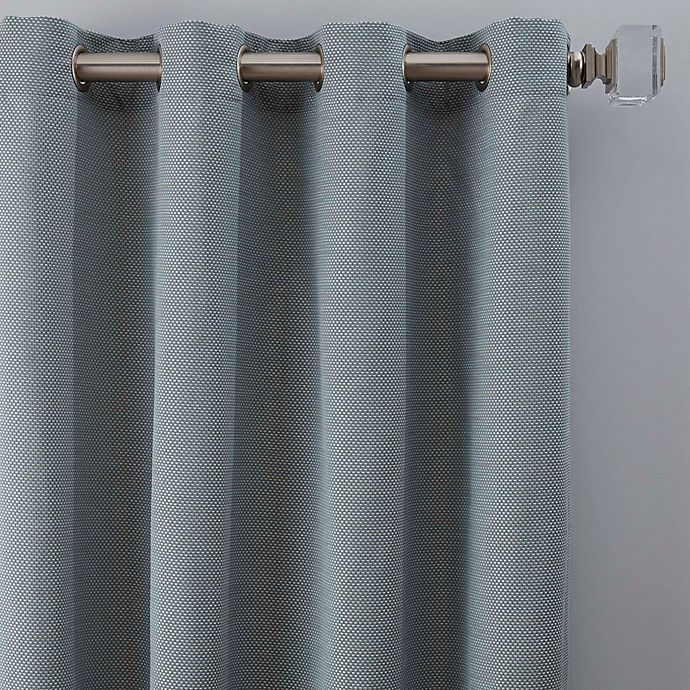 Alternate image 1 for Maxwell 63-Inch Grommet Window Curtain Panel in Blue