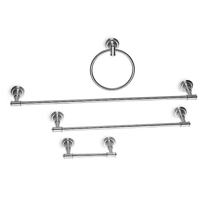 Alternate image 1 for Moen® Ellsworth Decorative Bathroom Hardware - Brushed Nickel