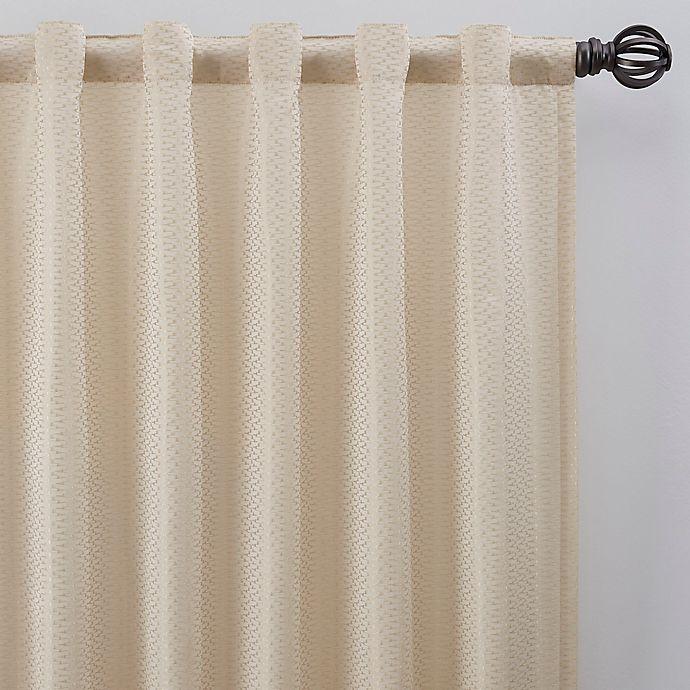 Alternate image 1 for Bargello Rod Pocket/Back Tab Room Darkening Window Curtain Panel