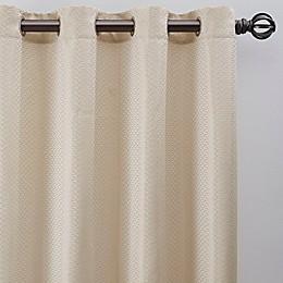 Bargello Grommet Room Darkening Window Curtain Panel