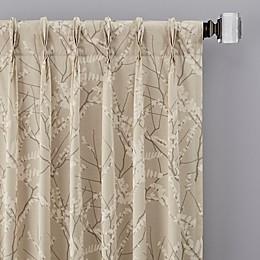 Catkin Pinch Pleat Window Curtain Panels