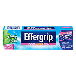 Effergrip 2.5 oz. Denture Adhesive Cream in Minty Fresh