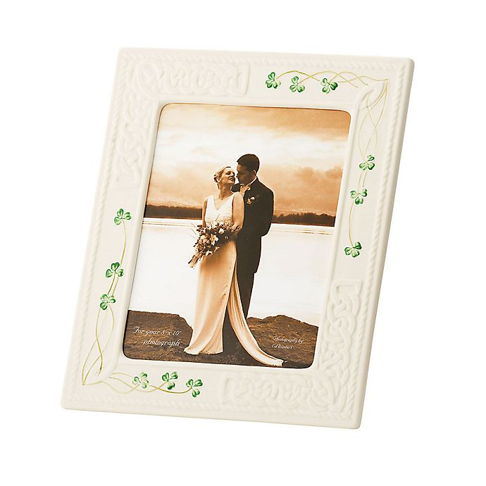 Alternate image 1 for Belleek Tara 8-Inch x 10-Inch Picture Frame