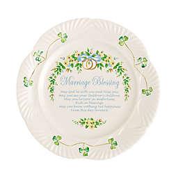 "Belleek ""Marriage Blessing"" Plate"