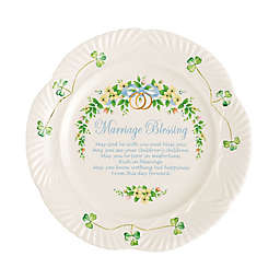 "Belleek ""Marriage Blessing"" Plate"