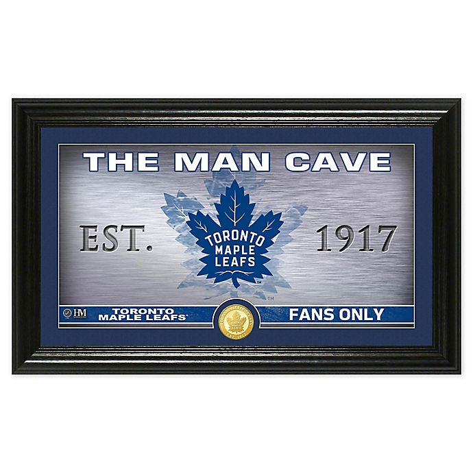 Alternate image 1 for NHL Toronto Maple Leafs  Man Cave Photo Mint