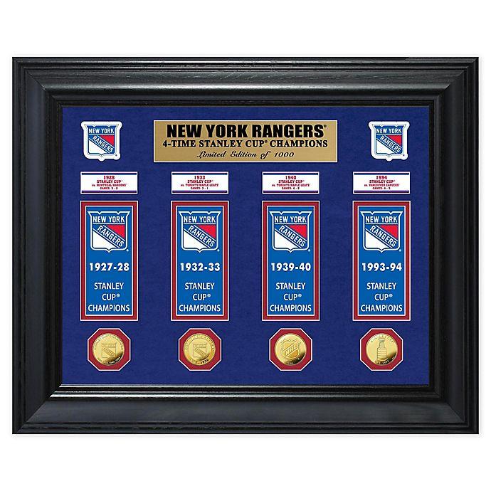 Alternate image 1 for NHL New York Rangers Deluxe Banner Photo Mint