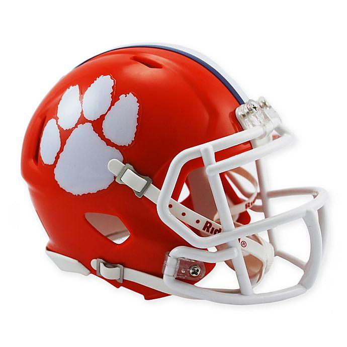 Riddell Clemson University Speed Mini Football Helmet Bed