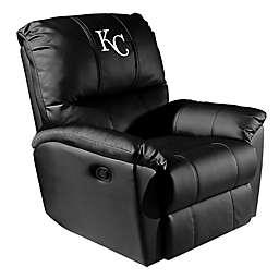 MLB Kansas City Royals Alternate Logo Rocker Recliner