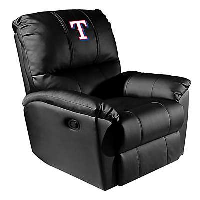 MLB Texas Rangers Alternate Logo Rocker Recliner