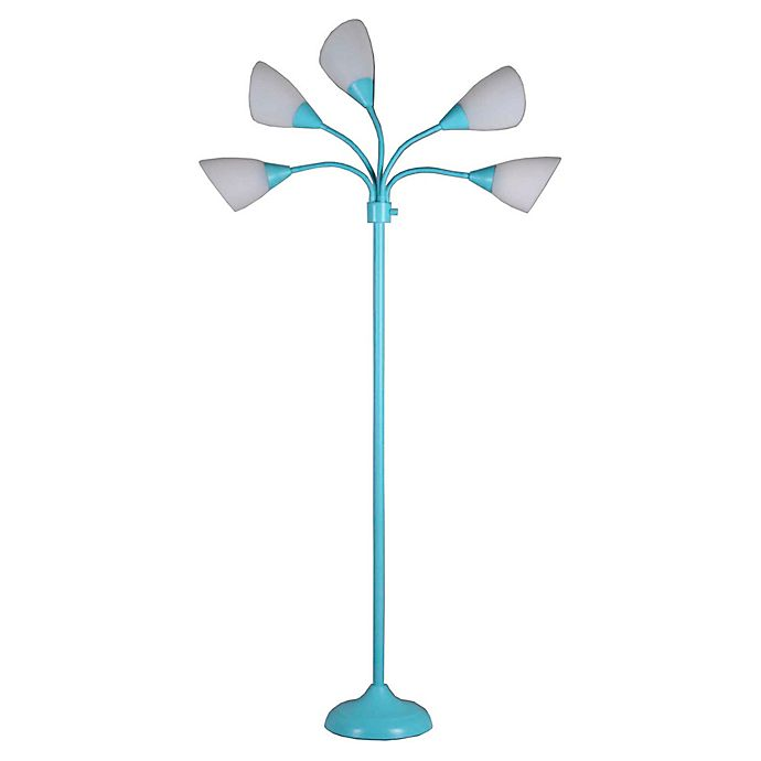 Alternate image 1 for Marmalade™ 5-Light Floor Lamp in Aqua