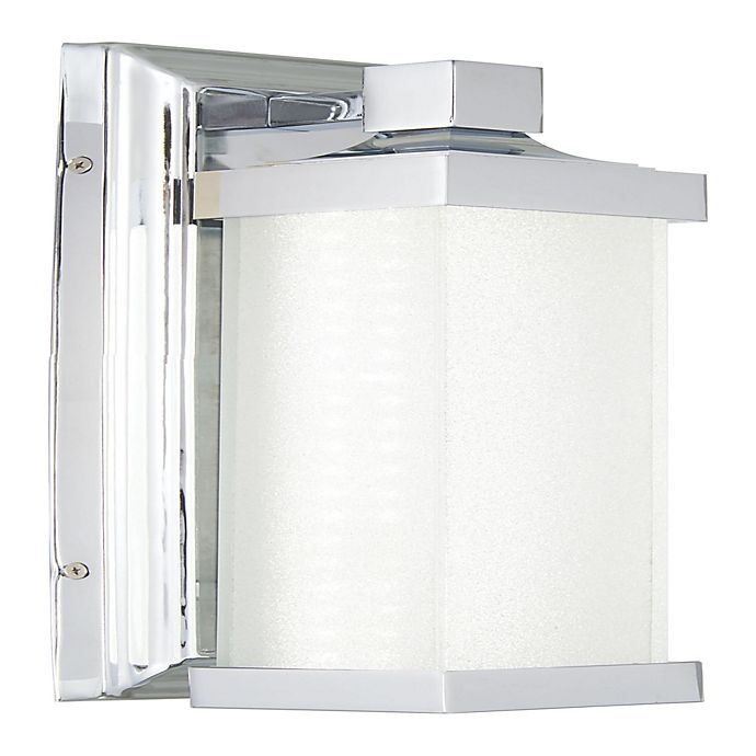 Alternate image 1 for Minka Lavery 5501 LED Wall Sconce in Chrome