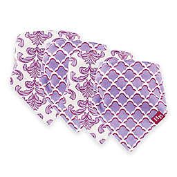 Hudson Baby® 12-Pack Brocade Bandana Bibs in Purple