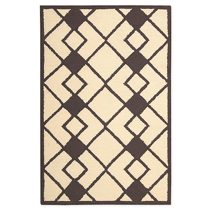 Alternate image 1 for Nourison Deco 2'6 x 3'10 Accent Rug in Ivory/Grey