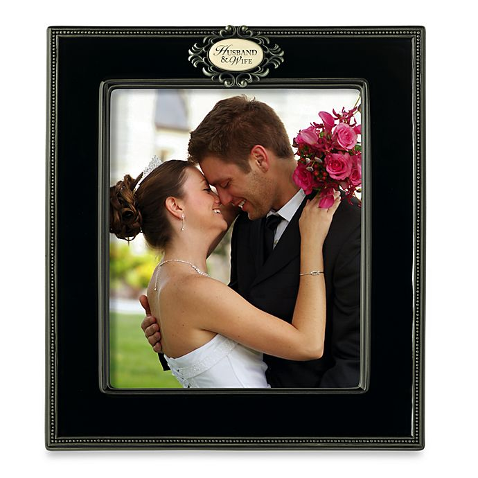 Husband And Wife Bridal Photo Frame Bed Bath Beyond
