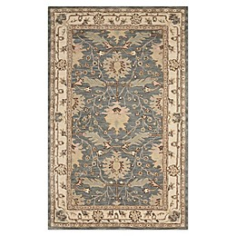 Nourison India House Tufted Rug in Blue