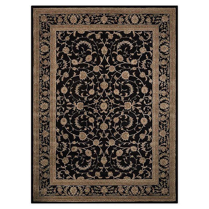 Alternate image 1 for Nourison™ Heritage Hall Black/grey Tufted Rug