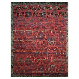 Nourison™ Dune Pomegranate Hand-Knotted Rug