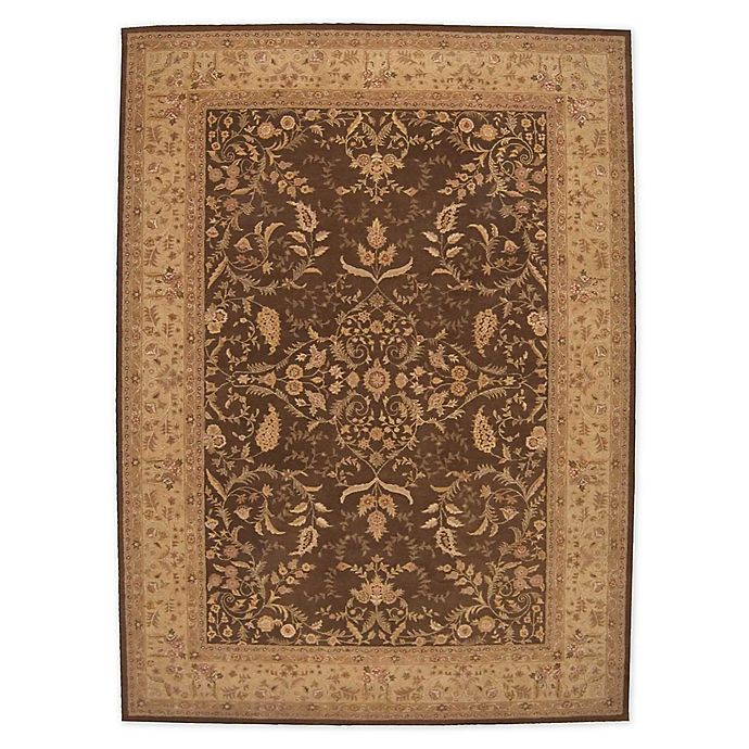 Alternate image 1 for Nourison™ Heritage Hall Brown 12' X 15' Tufted Area Rug in Brown