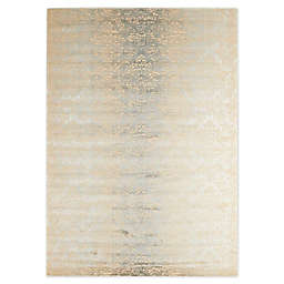 Nourison Luminance Sea Mist Rug in Beige