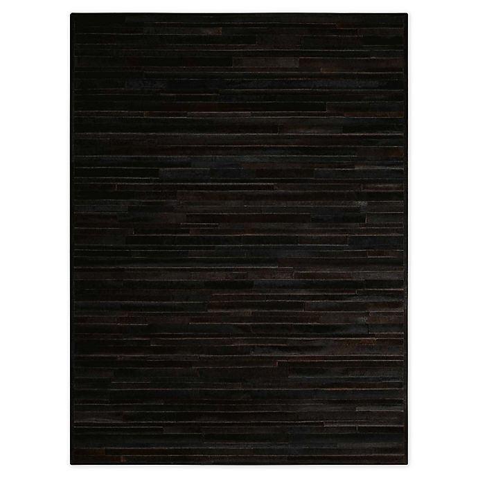 Alternate image 1 for Calvin Klein™ Ck Prairie Black 9' X 12' Hand-Knotted Area Rug in Black