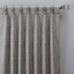Sebille Jacquard Pinch Pleat Window Curtain Panel