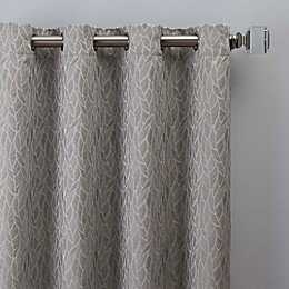 Sebille Jacquard Grommet Window Curtain Panel