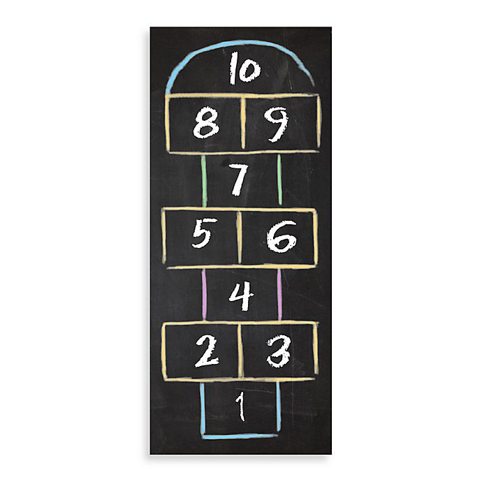 Alternate image 1 for Bungalow Flooring New Wave 60-Inch x 24-Inch Hopscotch Mat