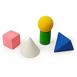 Oli & Carol™ Geometric Figures 5-Piece Bath Toy Set
