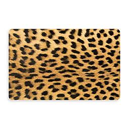 Bungalow Flooring New Wave 18-Inch x 27-Inch Leopard Kitchen Mat