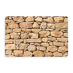 Bungalow Flooring New Wave 18-Inch x 27-Inch Stacked Stones Kitchen Mat
