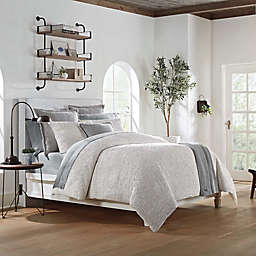 UGG® Olivia Twin Duvet Cover in Seal Grey