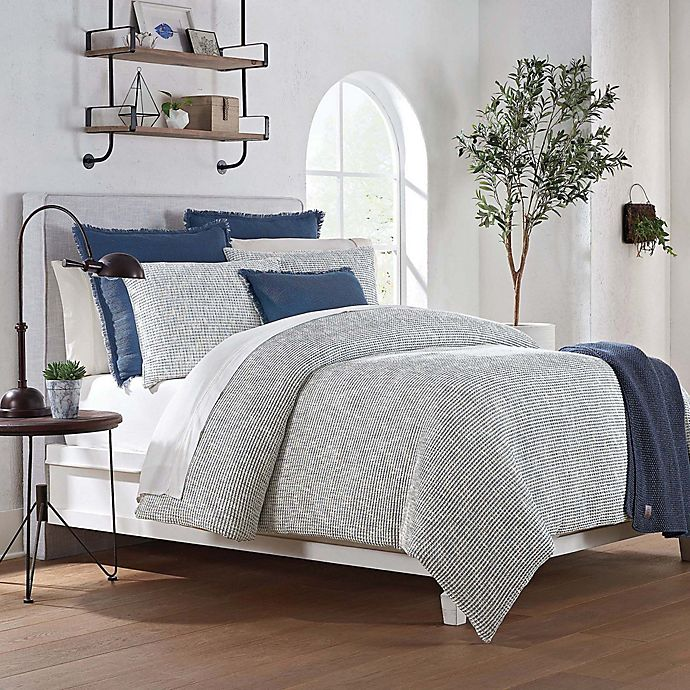 Alternate image 1 for UGG® Olivia Queen Duvet Cover in Blue