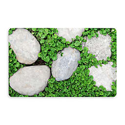 Bungalow Flooring New Wave 18-Inch x 27-Inch Path Stones Kitchen Mat