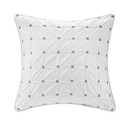 INK+IVY™ Jane European Pillow Sham in White