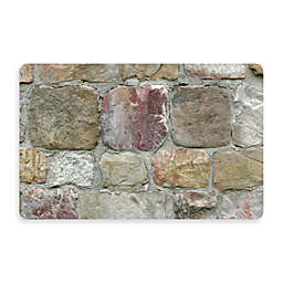 Bungalow Flooring New Wave 18-Inch x 27-Inch Rock Wall Kitchen Mat