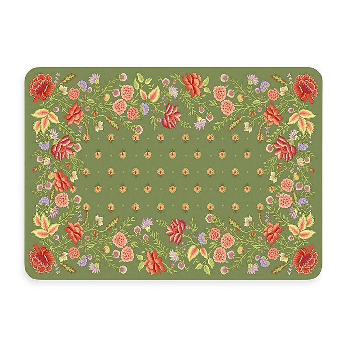 ac16efc0808 New Wave 22-Inch x 31-Inch Sage Palazzo Kitchen Floor Mat | Bed Bath ...