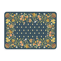 Bungalow Flooring New Wave 22-Inch x 31-Inch Palazzo Chambray Kitchen Mat