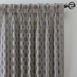 Verde Pinch Pleat Window Curtain Panel (Single)